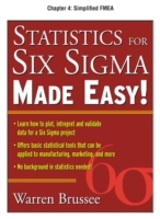 Обложка книги  - Statistics for Six Sigma Made Easy, Chapter 4
