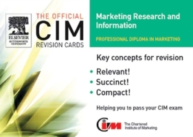 Обложка книги  - CIM Revision Cards 05/06: Marketing Research and Information