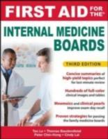 Обложка книги  - First Aid for the Internal Medicine Boards, 3rd Edition