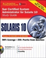Обложка книги  - Sun Certified System Administrator for Solaris 10 Study Guide (Exams CX-310-200 & CX-310-202)