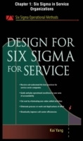 Обложка книги  - Design for Six Sigma for Service, Chapter 1