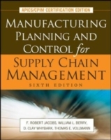 Обложка книги  - Manufacturing Planning and Control for Supply Chain Management