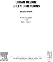 Обложка книги  - Urban Design: Green Dimensions