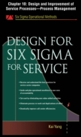 Обложка книги  - Design for Six Sigma for Service, Chapter 10
