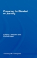 Обложка книги  - preparing for blended e-learning