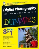 Обложка книги  - Digital Photography All-in-One Desk Reference For Dummies