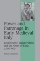 Обложка книги  - Power and Patronage in Early Medieval Italy