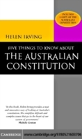 Обложка книги  - Five Things to Know About the Australian Constitution