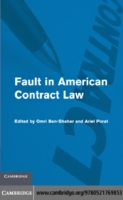 Обложка книги  - Fault in American Contract Law
