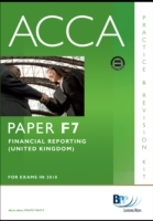 Обложка книги  - ACCA Paper F7 – Financial Reporting (GBR) Practice and Revision Kit