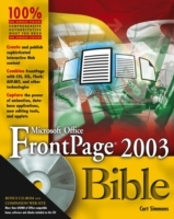 Обложка книги  - Microsoft Office FrontPage 2003 Bible
