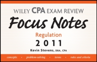 Обложка книги  - Wiley CPA Examination Review Focus Notes