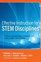 Обложка книги  - Effective Instruction for STEM Disciplines