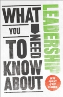 Обложка книги  - What You Need to Know about Leadership