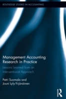 Обложка книги  - Management Accounting Research in Practice