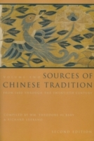 Обложка книги  - Sources of Chinese Tradition