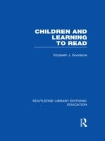 Обложка книги  - Children and Learning to Read (RLE Edu I)