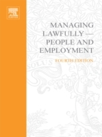 Обложка книги  - Managing Lawfully – People and Employment