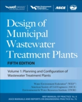 Обложка книги  - Design of Municipal Wastewater Treatment Plants MOP 8, Fifth Edition
