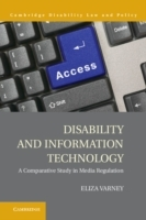 Обложка книги  - Disability and Information Technology