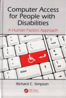 Обложка книги  - Computer Access for People with Disabilities