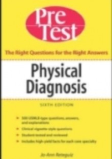 Обложка книги  - Physical Diagnosis PreTest Self Assessment and Review, Sixth Edition