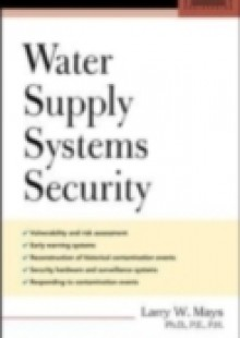 Обложка книги  - Water Supply Systems Security