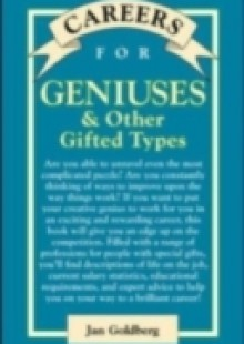Обложка книги  - Careers for Geniuses & Other Gifted Types