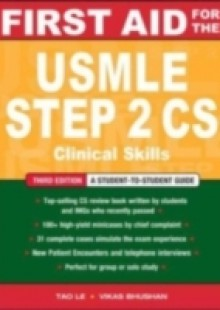 Обложка книги  - First Aid for the USMLE Step 2 CS, Third Edition
