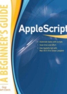 Обложка книги  - AppleScript: A Beginner's Guide