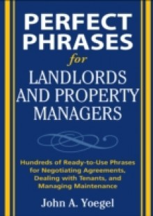 Обложка книги  - Perfect Phrases for Landlords and Property Managers