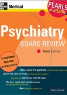Обложка книги  - Psychiatry Board Review: Pearls of Wisdom, Third Edition