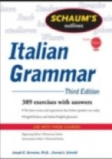 Обложка книги  - Schaum's Outline of Italian Grammar, Third Edition