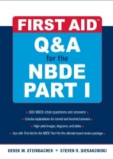 Обложка книги  - First Aid Q&A for the NBDE Part I