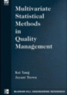 Обложка книги  - Multivariate Statistical Methods in Quality Management