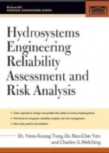 Обложка книги  - Hydrosystems Engineering Reliability Assessment and Risk Analysis