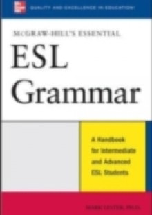 Обложка книги  - McGraw-Hill's Essential ESL Grammar