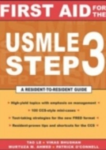 Обложка книги  - First Aid for the USMLE Step 3