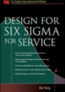 Обложка книги  - Design for Six Sigma for Service
