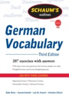 Обложка книги  - Schaum's Outline of German Vocabulary, 3ed