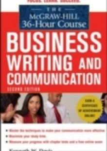 Обложка книги  - McGraw-Hill 36-Hour Course in Business Writing and Communication, Second Edition