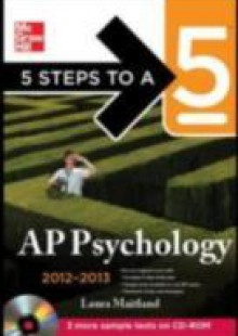 Обложка книги  - 5 Steps to a 5 AP Psychology, 2012-2013 Edition