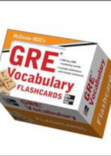 Обложка книги  - McGraw-Hill's GRE Vocabulary Flashcards