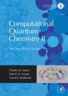 Обложка книги  - Computational Quantum Chemistry II – The Group Theory Calculator
