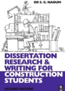 Обложка книги  - Dissertation Research and Writing for Construction Students
