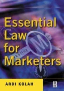 Обложка книги  - Essential Law for Marketers