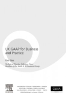 Обложка книги  - UK GAAP for Business and Practice