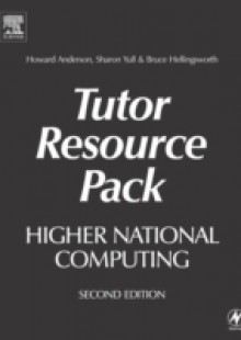 Обложка книги  - Higher National Computing