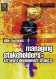 Обложка книги  - Managing Stakeholders in Software Development Projects