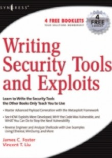 Обложка книги  - Writing Security Tools and Exploits